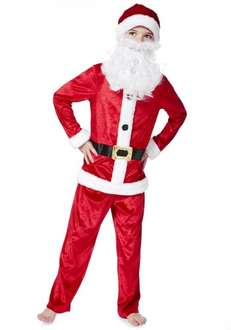 children's Santa Costume £5 @ Tesco clothing