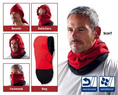6-in-1 Fleece Headwear £4.99 @ Aldi from 18 dec
