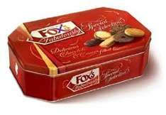foxs fabulously biscuit selection 650g £4 @ iceland