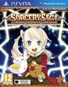 Sorcery Saga: Curse of the Great Curry God (PS Vita) £13.96 Delivered @ VGB (Using Code/Includes £1 Reward Points)