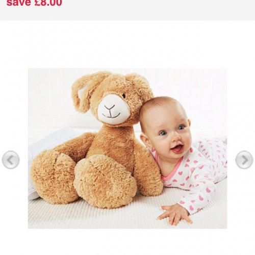 Mothercare Large Roxy Rabbit £8