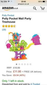 Polly Pocket party on the wall playsets £2.99!! @ quality save / home bargains