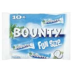 Mars Chocolate Bounty Milk Fun Size 303g bags (Pack of 16) £8.66 @ Amazon   (free delivery £10 spend/prime)