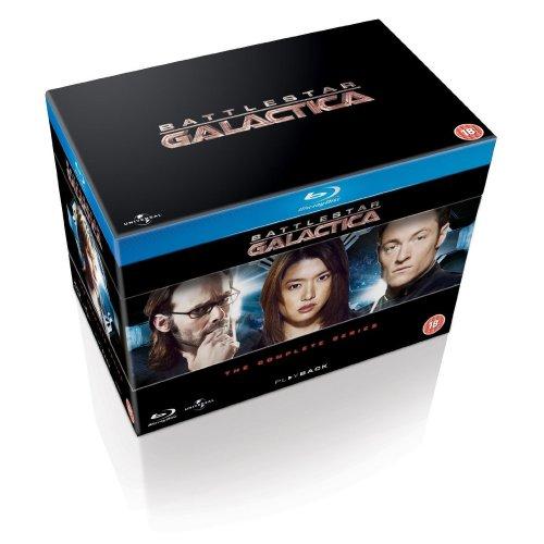 Battlestar Galactica: The Complete Series [Blu-ray] [2004] [Region Free] @ amazon.co.uk @  £24.13