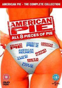 American Pie 1-8 (DVD) for £12.00 at amazon