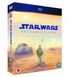 Star Wars: The Complete Saga [Blu-ray] £40 at Amazon