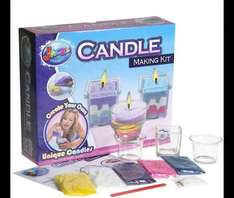 Grafix Candle Making Kit - HALF PRICE - Now £5.00 (£8 Delivered) @ Tesco Direct and sold by The Entertainer