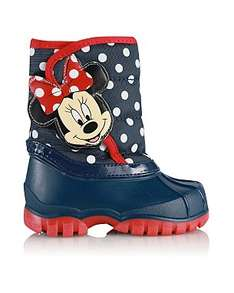 Minnie Mouse Snow boots £6 @ George Asda
