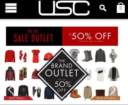 USC Upto 50% Off Designer Clothing/Accesssories