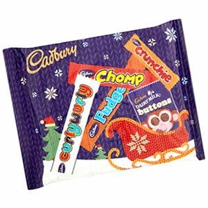 cadburys selection packs 3 for a £1 at Poundland.
