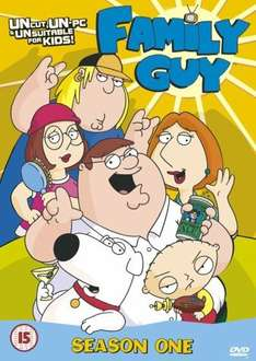 family guys various seasons starting from £1.59 used @ that's entertainment