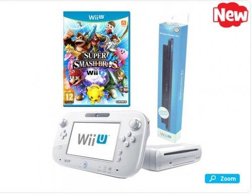 Wii U Basic 8Gb + Super Smash Bros + Official Sensor Bar @ Toys r Us £174.99 (using BIRTHDAY10 code)