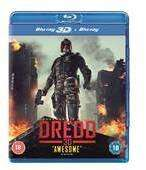 Dredd (2D/3D Blu Ray) £4.49 Delivered @ WOWHD (Using Code)