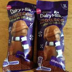 Dairy milk mousse snowman now 5 for £1 at home bargains
