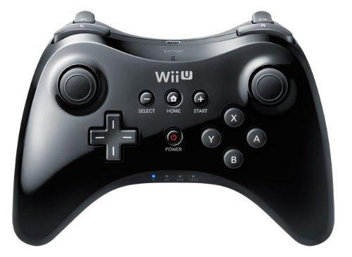 Nintendo Wii U Pro Controller - Black @ amazon £28.99