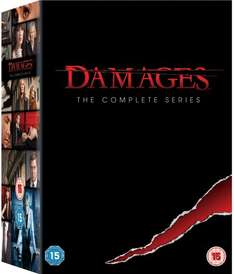 Damages season 1-5 for £24.99 at Zavvi (update 20/12 now £22.99)