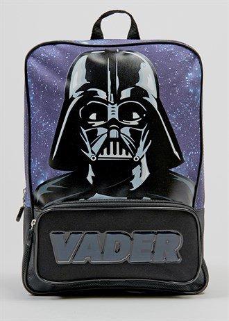 Star Wars Darth Vader Backpack  Now £6.00 Was £12.00@MATALAN