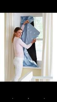Gro anywhere blackout blind, BLUE OR PINK, Mothercare Instore & Online
