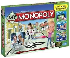 my monopoly £6.59  (free delivery £10 spend/prime) @ amazon