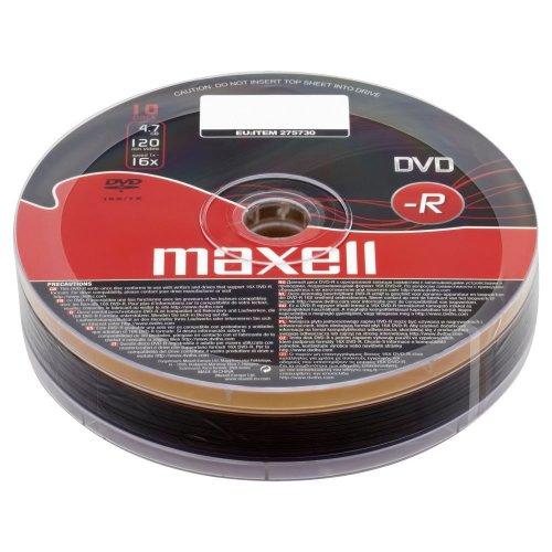 Maxell DVD-/+r 10 pack half price in Wilko's