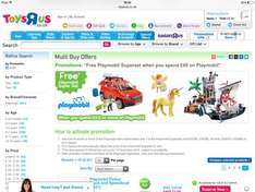 Free Playmobil superset worth £19.99 when you spend £45 on Playmobil at Toys R Us
