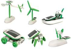 6-in-1 Educational Solar Kit £1.99 at Home Bargains