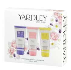 Yardley London Mixed Hand and Nail Cream Gift Set £4.44 at Amazon  (free delivery £10 spend/prime)