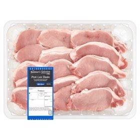 1.5 KG Butcher's Selection Pork Loin Steaks £5.47 @ Asda