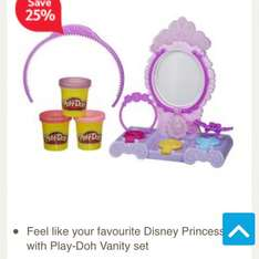 Play-doh Vanity set featuring Sofia the first £3.75 Tesco