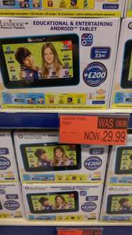 Lexibook power tablet was £49.99 now reduced to £29.99 @B&M stores