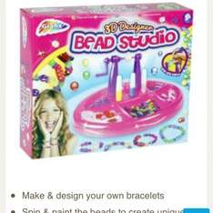 Grafix 3d designer bead station £5.00 @ Tesco Direct free click and collect.