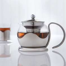 Sabichi 750 ml Glass Teapot with Infuser £11.31 @ Amazon sold by san direct
