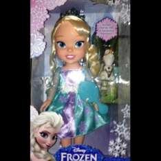 Frozen elsa dolls there in stock at the toy shop / The Entertainer in Leeds or via there website  there only £24,99