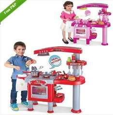 Toy Kitchen & Accessories £24.99 @ Ebay / Pink and Blue Gifts
