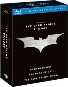 The Dark Knight Trilogy Blu-ray £11.99 @ Zavvi