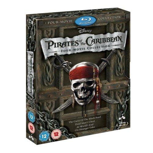 Pirates of the Caribbean 1-4 Blu Ray Box Set £10.99 @Zavvi