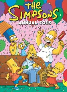 The Simpsons Annual 2015 £1.00 @ Amazon (free delivery £10 spend/Prime)