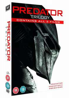 Predator Trilogy [DVD] £5.00 at Amazon (Free Delivery with prime/£10 spend)