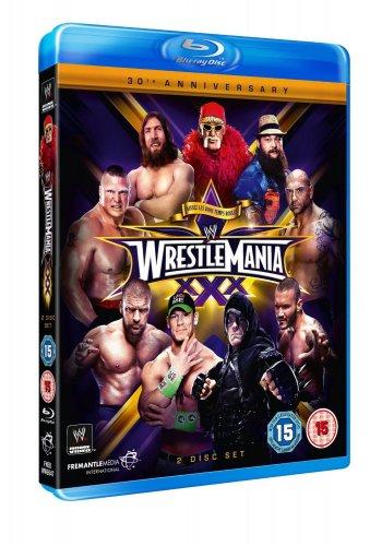 WWE: Wrestlemania 30 [Blu-ray] £17 and £16 (DVD) At Amazon