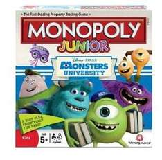 Monopoly Junior (Monsters University Edition) £9.99 Delivered @ Fun Collectables Via Amazon