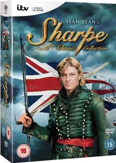 Sharpe Classic Collection [DVD] £12.00 @ Amazon.co.uk