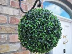 Topiary Hanging Balls just £1.99 each at B&M