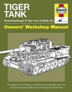 Haynes Tiger Tank Manual £14.07 @ Wordery
