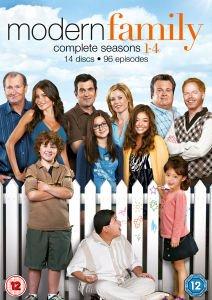 Modern Family - Seasons 1-4 DVD - Zavvi - £18.99