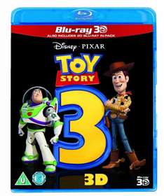 Toy Story 3 (Blu-ray 3D + Blu-ray) £8.99 at Amazon (Free Delivery with Prime/£10 spend)