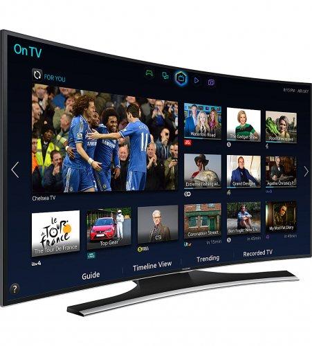 "SAMSUNG 48"" curved full hd 3d smart tv £799 + Free del @ Selfridges"