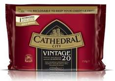 Cathedral City Vintage Cheddar 300G Tesco on line or in-store. - £2