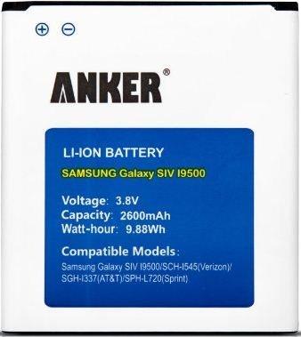 Anker® 2600mAh Li-ion Battery for Samsung Galaxy S4 £3.75 @ eBay