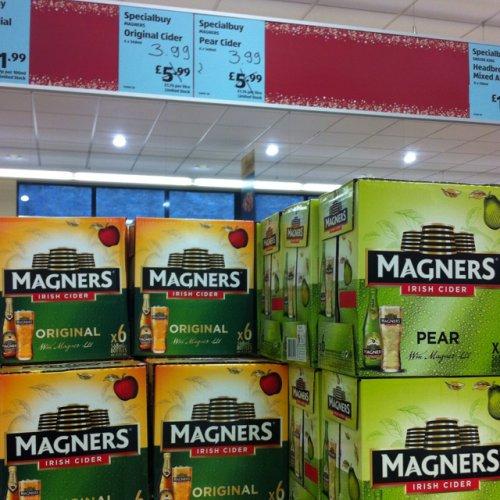Magners Irish Cider x 6 £3.99 Aldi Tottenham