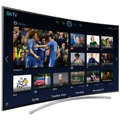 Samsung 55 inch Curved 3D LED Smart TV 1080p HD Freeview HD Freesat HD - £1,399 @ Richer Sounds